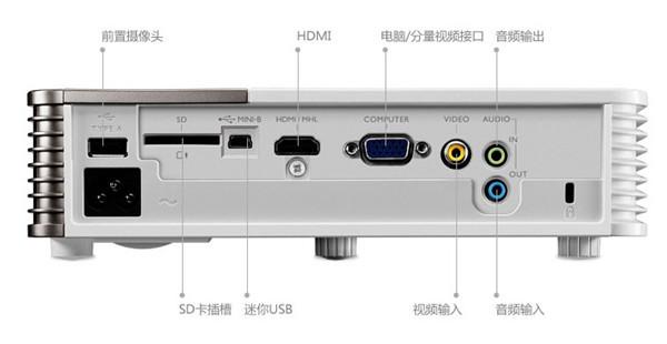 hdmi接口(提供超流畅高清画面),复合视频接口,电脑等,还可连接wii,ps3