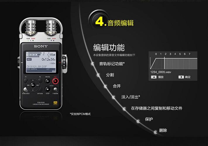 设计的高感度麦克风,其输出灵敏度达到了-31db/pa