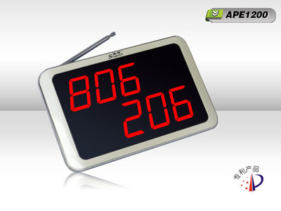 迅铃 宾馆、酒店客房服务呼叫接收主机APE1200