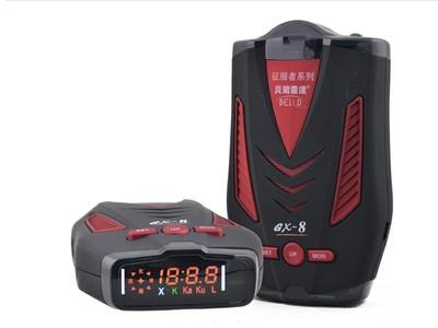 征服者GX8贝尔雷达蓝芯8核 8G变频 测速电子狗 全国版
