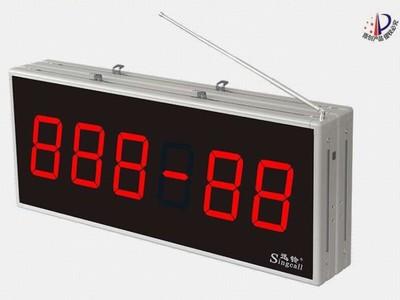 迅铃APE8000无线呼叫双面显示屏主机 医院无线呼叫器 走廊屏信号稳定 远距离接收 双面显
