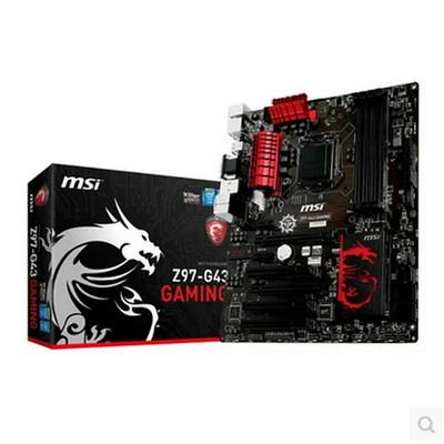 MSI/微星 Z97-G43 GAMING Z97主板 带Killer杀手网卡 支持E3 1231V3 4790K 1150针 国行现货