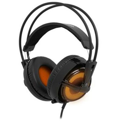Steelseries 西伯利亚V2狂热之橙SteelSeries赛睿 西伯利亚V2耳机 狂热之橙版 呼吸灯耳机主动降噪