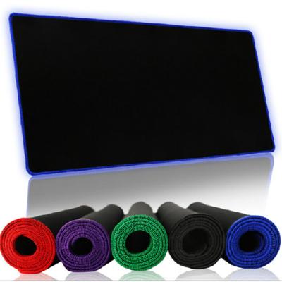 包邮游戏鼠标垫大锁边键盘垫办公桌垫大鼠标垫桌垫天然橡胶布面
