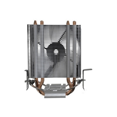ID-COOLING SE-902 V3多平台塔式侧吹CPU散热器 双热管9cm蓝色LED灯风扇兼容小机箱