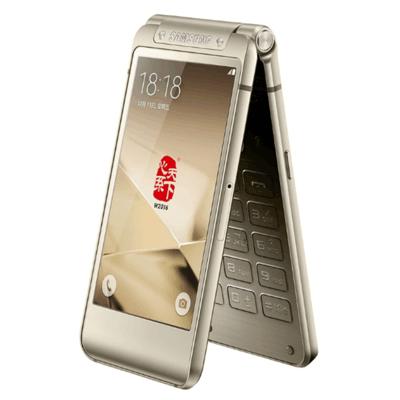 正品行货Samsung/三星 SM-W2016翻盖商务机 双模双待 电信4G手机