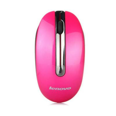 联想(Lenovo) 台式机笔记本USB接口M3803光电鼠标 联想N3903无线鼠标粉色