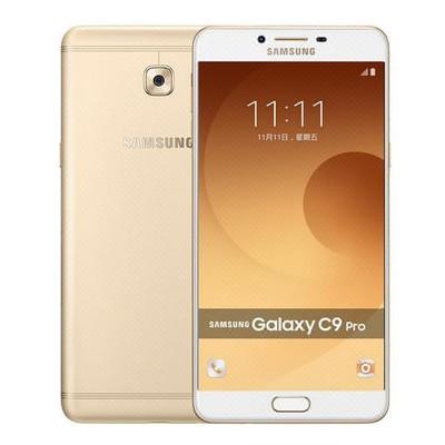 三星 Galaxy C9Pro(C9000)6+64G 枫叶金 全网通 4G手机 双卡双待