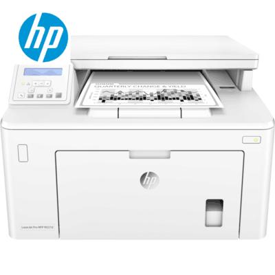 惠普M227D黑白激光打印机一体机自动双面高速办公复印扫描 A4A5