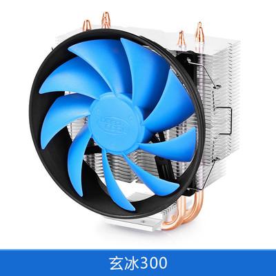 九州风神 玄冰300 cpu散热器 CPU风扇智能版/AMD/INTEL/775/静音包邮