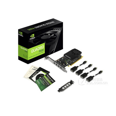 丽台  P600 2GB GDDR5/128bit  Pascal GPU架构/支持5K 绘图专业显卡