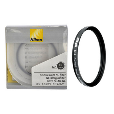 尼康 UV镜 52mm  Nikon尼康52mm NC UV镜 62mm 67mm 72mm 77mm 82mmUV 尼康UV镜 尼康滤镜