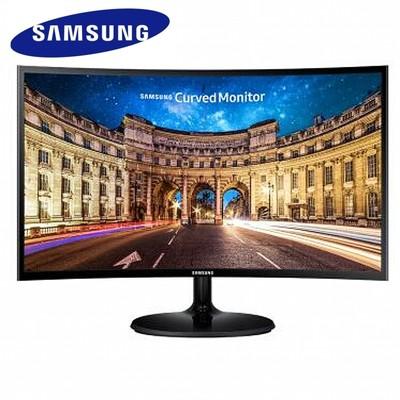 【三星SAMSUNG授权专卖 顺丰包邮】三星 C24F390FH 23.5英寸LED曲面背光显示器1800R震撼曲率,影院式享受,打游戏更有代入感!