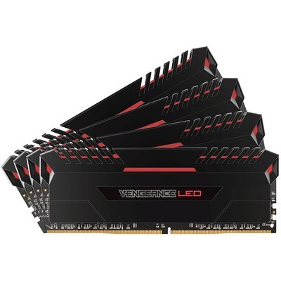 海盗船 复仇者LED 64GB DDR4 3000(CMU64GX4M4C3000C15R)