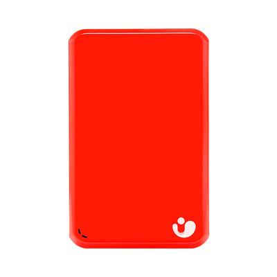 艾比格特 (iBIG Stor)旗舰版 2.5英寸 2TB 无线移动硬盘(烈焰红)