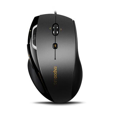 雷柏 N6200有线光学鼠标  电脑鼠标 雷柏鼠标