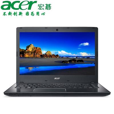 【官方授权 顺丰包邮】Acer TMP249 14英寸商务本 酷睿i5-6200U处理器 8GB内存 1TB硬盘 GT940MX-2G独显 高清屏 预装Windows 10