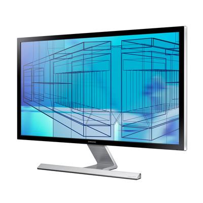 三星 U28D590D 4K 分辨率 支持DP HDMI 输入 方式 看清晰画质  舍我其谁