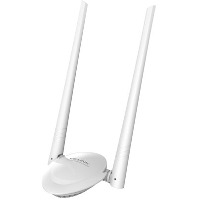B-LINK必联 300M无线网卡 USB大功率无线网卡 台式机笔记本wifi接收器