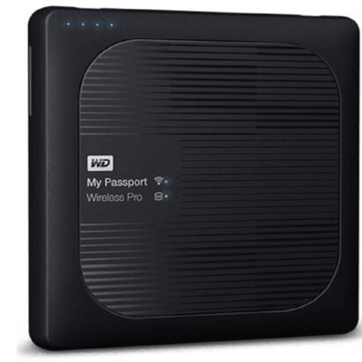 西部数据 My Passport Wireless Pro 2TB(WDBP2P0020BBK)