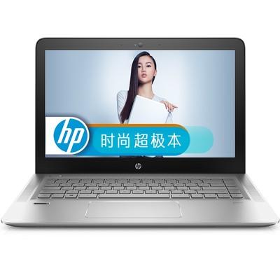 (北京惠普授权代理)惠普 ENVY 14-j104TX14英寸游戏笔记本(i7-6700HQ 8G 1TB GTX950 4G独显 全高清1920*1080 Win10)银色