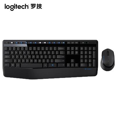 罗技 MK345无线键鼠套装笔记本台式电脑办公全尺寸多媒体键鼠