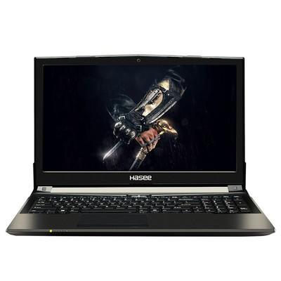 【顺丰包邮】神舟 战神Z6-KP5D1 15.6英寸游戏笔记本(I5-7300HQ 8G 1TB GTX1050-2G GDDR5发烧级显卡 Win10)黑色