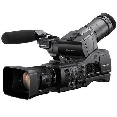 索尼(SONY)NEX-EA50CH 专业摄像机 可变肩扛式大画幅摄录一体机 NEX-EA50CK(含18-200手动变焦镜头)