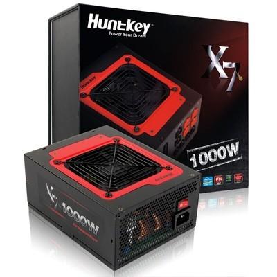航嘉(Huntkey)额定1000W X7-1000电源(游戏发烧友定制/全模组/单路80A/80PLUS铜牌/支持4个显卡)