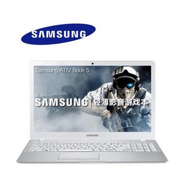 【官方授权】三星(SAMSUNG)500R5L-Y01 15.6英寸超薄笔记本(i7-6500U 8G 500+128G固态硬盘2G独显全高清屏Win10)白