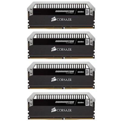 海盗船 统治者铂金 64GB DDR4 3000(CMD64GX4M4C3000C15)