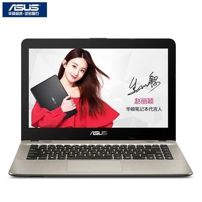 华硕 R414UV720014英寸笔记本电脑(i5-7200U 4G 256GSSD 920MX 2G独显)黑色