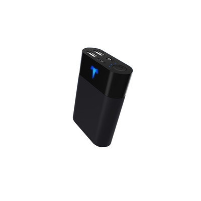 羽博移动电源10200毫安名片大小 进口AAA电池制造T1充电宝