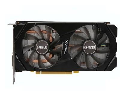 影驰(Galaxy)GeForce GTX1660 6G骁将 GDDR5 自营台式机电竞游戏卡 黑色