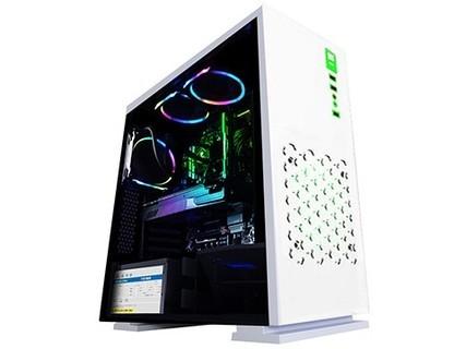 甲骨龙 i3 8100/GTX1030/120G 固态盘/游戏电脑主机/DIY组装电脑 套餐一