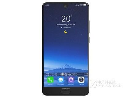 SHARP夏普 S2 FS8010 全面屏手机 全网通4G智手机 双卡双待 4GB+64GB 釉理白 行货64GB