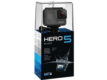 GoPro HERO 5 Black 运动摄像机 4K高清 黑色